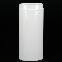 Flacon ovale 30 ml blanc micro