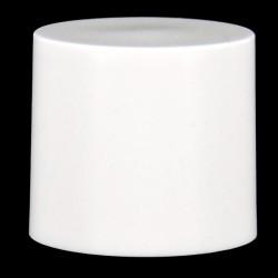 Capot rond blanc Micro