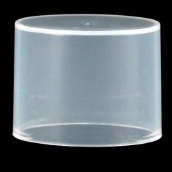 Capot ovale transparent micro